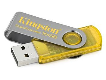 Kingston 16GB DataTraveler 101 USB Flash Drive - Yellow (pack 3 pcs)