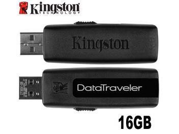 Kingston 16GB DataTraveler 100 USB Flash Memory (pack 5 pcs)