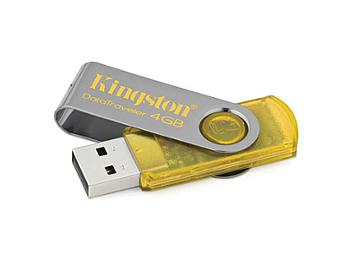 Kingston 4GB DataTraveler 101 USB Flash Drive - Yellow (pack 2 pcs)
