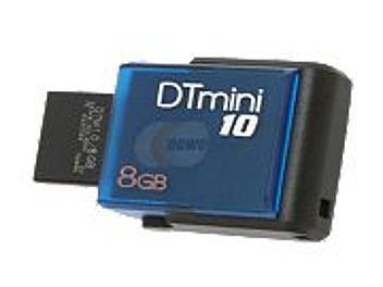Kingston 8GB DataTraveler M10 USB Flash Memory - Blue