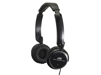 JVC HA-S350 Light Weight Headphones - Black
