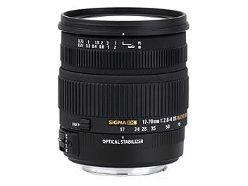 Sigma 17-70mm F2.8-4.5 DC Macro OS HSM Lens - Canon Mount