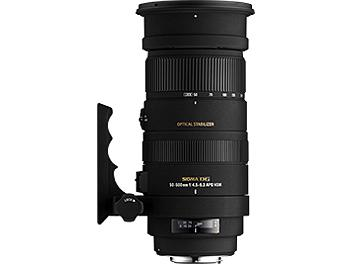 Sigma APO 50-500mm F4-6.3 DG OS HSM Lens - Pentax Mount