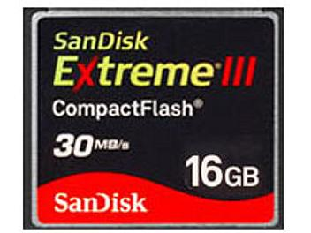 SanDisk 16GB Extreme III CompactFlash Card