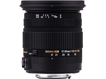 Sigma 17-50mm F2.8 EX DC OS HSM Lens - Pentax Mount