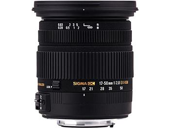 Sigma 17-50mm F2.8 EX DC OS HSM Lens - Sony Mount