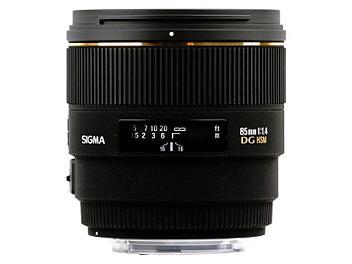Sigma 85mm F1.4 EX DG HSM Lens - Canon Mount