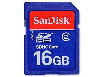 SanDisk 16GB Standard Class-2 SDHC Card (pack 3 pcs)