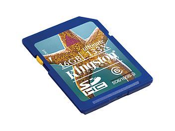 Kingston 16GB Class-6 SDHC Memory Card - 20MB/s (pack 3 pcs)