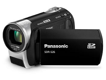 Panasonic SDR-S26 SD Camcorder PAL - Black