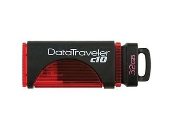 Kingston 32GB DataTraveler C10 USB 2.0 Flash Drive - Red (pack 2 pcs)