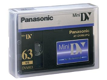 Panasonic AY-DVM63PQ mini-DV Cassette (pack 200 pcs)