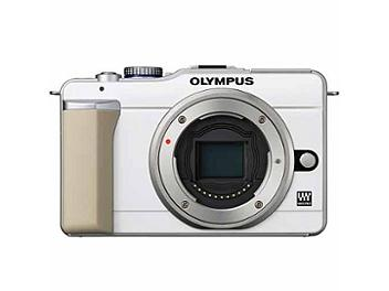 Olympus PEN E-PL1 Digital Camera - White