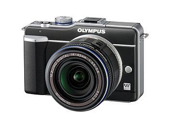 Olympus PEN E-PL1 Digital Camera Kit with 14-42mm Lens - Black