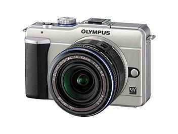 Olympus PEN E-PL1 Digital Camera Kit with 14-42mm Lens - Champagne