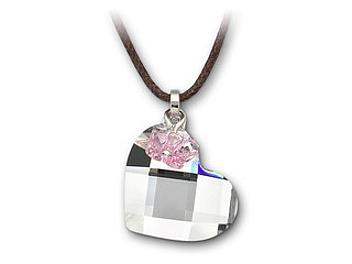 Swarovski 877253 Heart & Butterfly Mini Pendant