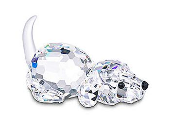 Swarovski 172296 Dog Playing