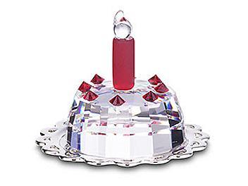 Swarovski 296555 Birthday Cake (pack 2 pcs)