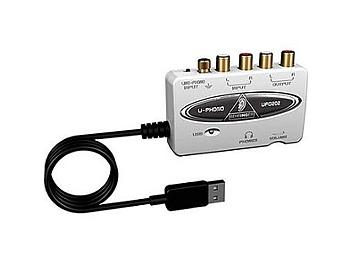 Behringer U-PHONO UFO202 USB Audio Interface
