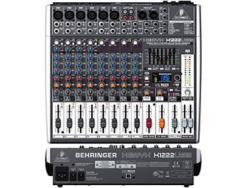 Behringer XENYX X1222USB Audio Mixer