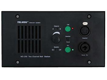 Telikou WS-200/4 2-channel Recessed Intercom Speaker Station