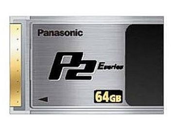 Panasonic AJ-P2E064XG P2 Card 64GB (pack 2 pcs)