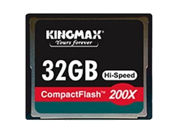 Kingmax 32GB CompactFlash 200x Memory Card (pack 5 pcs)