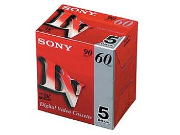 Sony DVM60R3 mini-DV Cassette (pack 500 pcs)