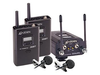 Azden 325ULT Dual-Channel UHF Twin Body-Pack Comb System