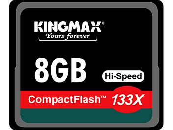 Kingmax 8GB CompactFlash 133x Memory Card (pack 15 pcs)