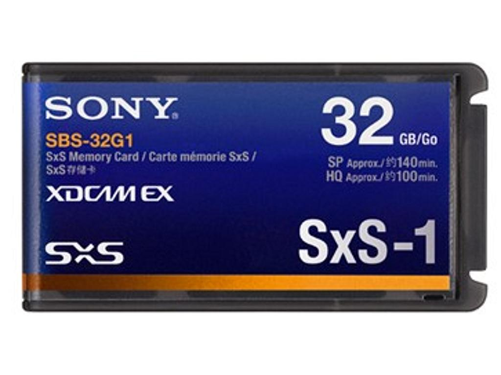 Drivers: Sony SxS Memory Card