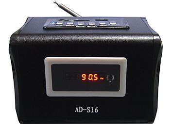 Portable Media Speaker AD-S16 (pack 10 pcs)