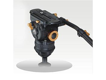 E-Image 7087H 100mm Fluid Video Head - Orange