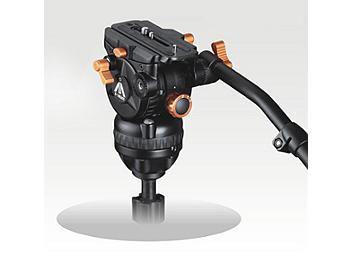 E-Image 7063H 75mm Fluid Video Head - Orange