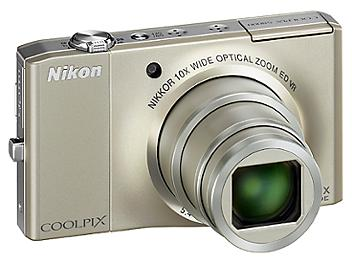 Nikon Coolpix S8000 Digital Camera - Silver