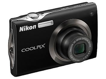 Nikon Coolpix S4000 Digital Camera - Black