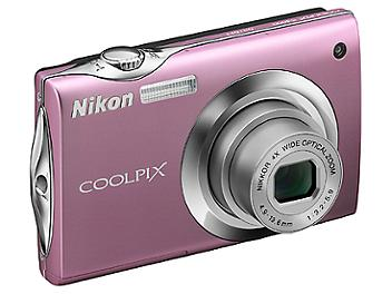 Nikon Coolpix S4000 Digital Camera - Pink