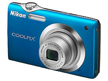 Nikon Coolpix S3000 Digital Camera - Blue