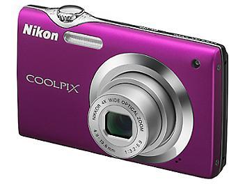 Nikon Coolpix S3000 Digital Camera - Magenta