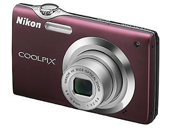 Nikon Coolpix S3000 Digital Camera - Purple