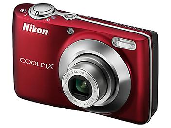 Nikon Coolpix L22 Digital Camera - Red