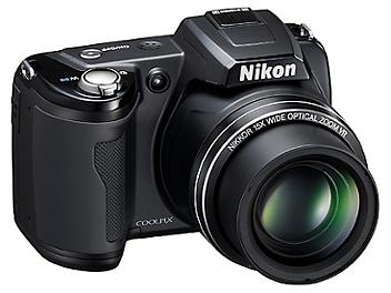 Nikon Coolpix L110 Digital Camera - Black