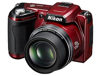Nikon Coolpix L110 Digital Camera - Red