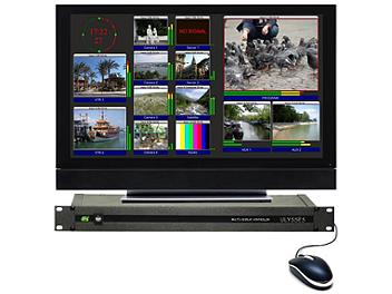 VideoSolutions Ulysses CV16a Multiviewer with Balanced Audio