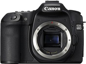 Canon EOS-60D DSLR Camera Body