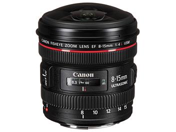 Canon EF 8-15mm F4L USM Fisheye Lens