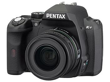 Pentax K-r DSLR Camera Kit with Pentax 18-55mm and 55-300mm Lens - Black