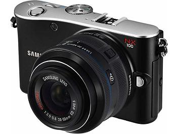 Samsung NX100 Camera - Black
