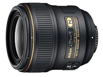 Nikon 35mm F1.4G AF-S Nikkor Lens