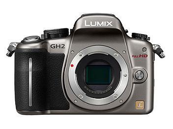 Panasonic Lumix DMC-GH2 Camera Body PAL - Silver
